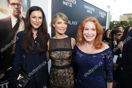 Stock Picture of Sasha Barrese, Gillian Vigman and Sondra Currie arrive at Warner Bros. Premiere of The Hangover: Part III, on Monday, May, 20, 2013 in Los Angeles