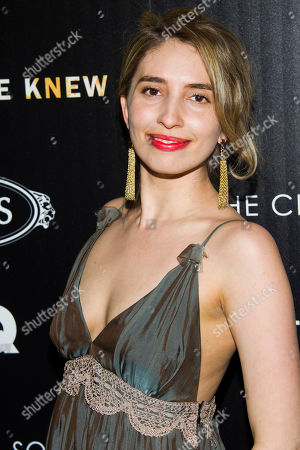 """Stock Photo of Sarah Blakley-Cartwright attends a screening of """"What Maisie Knew"""" hosted by The Cinema Society with Tod's and GQ on in New York"""