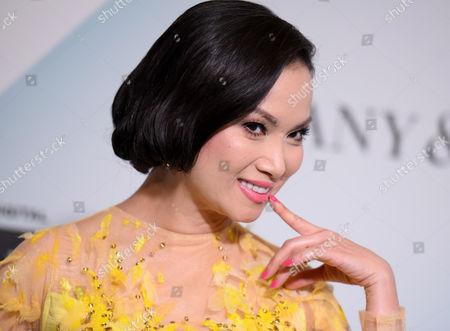 Ha Phuong arrives at the Women in Film 2015 Crystal + Lucy Awards at the Hyatt Regency Century Plaza on in Los Angeles