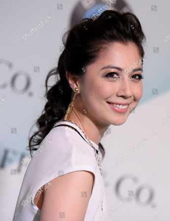 Ayako Fujitani arrives at the Women in Film 2015 Crystal + Lucy Awards at the Hyatt Regency Century Plaza on in Los Angeles