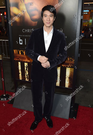 "Leehom Wang arrives at the world premiere of ""Blackhat"" at the TCL Chinese Theatre, in Los Angeles"