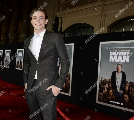 "Stock Picture of Actor Dave Patten arrives on the red carpet at the world premiere of the feature film ""Delivery Man"" at The El Capitan Theatre on in Los Angeles"