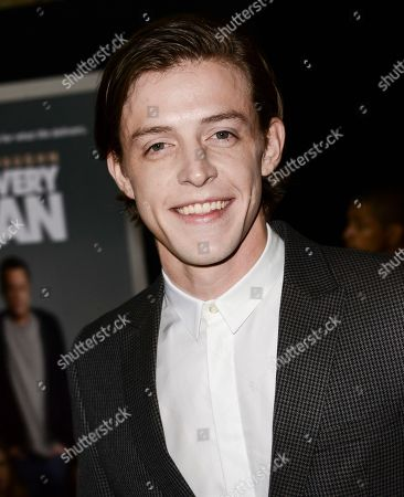 "Actor Dave Patten arrives on the red carpet at the world premiere of the feature film ""Delivery Man"" at The El Capitan Theatre on in Los Angeles"