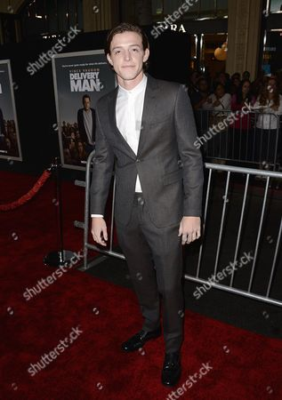 "Actor Dave Patten arrives on the red carpet at the world premiere of ""Delivery Man"" at The El Capitan Theatre on in Los Angeles"