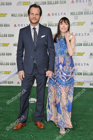 "Editorial picture of World Premiere of ""Million Dollar Arm"" - Arrivals, Los Angeles, USA"