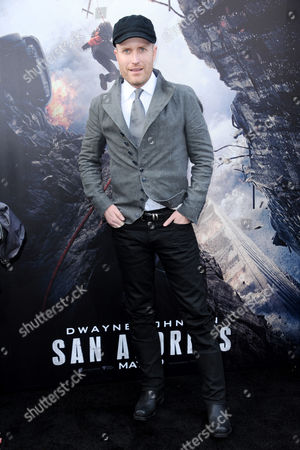 "Composer Andrew Lockington arrives at the world premiere of ""San Andreas"" at the TCL Chinese Theatre, in Los Angeles"