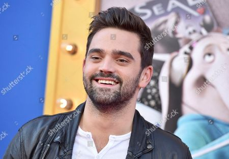 "Brendan Fletcher arrives at the world premiere of ""Sing"" at the Microsoft Theater, in Los Angeles"