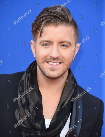 """Billy Gilman arrives at the world premiere of """"Sing"""" at the Microsoft Theater, in Los Angeles"""