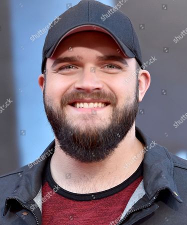 """Josh Gallagher arrives at the world premiere of """"Sing"""" at the Microsoft Theater, in Los Angeles"""