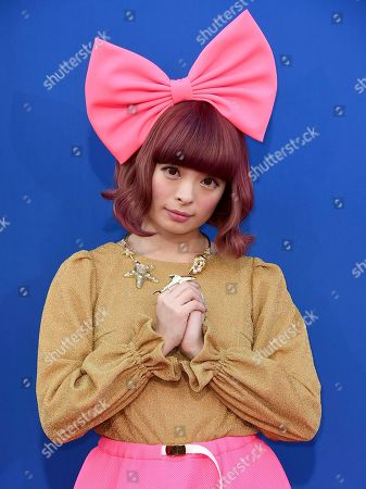 """Kyary Pamyu Pamyu arrives at the world premiere of """"Sing"""" at the Microsoft Theater, in Los Angeles"""