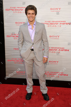 """Billy Unger attends the world premiere of """"The Amazing Spider-Man"""" at the Regency Village Theatre on in Los Angeles"""
