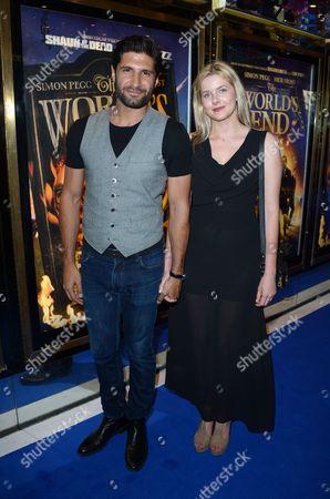 Kayvan Novak, Rachel Hurd-Wood at the World Premier of World's End in London on