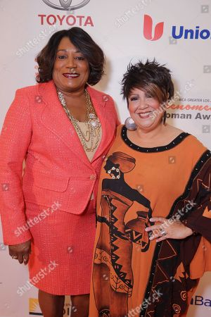 Editorial picture of YWCA Greater Phenomenal Woman of the Year Award, Los Angeles, USA
