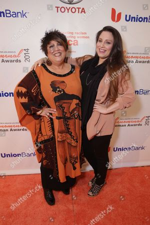 Tata Vega and Chloe Vega seen at YWCA Greater Los Angeles Phenomenal Woman of the Year Award at the Omni Los Angeles Hotel, in Los Angeles, CA