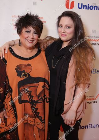 Stock Picture of Tata Vega and Chloe Vega seen at YWCA Greater Los Angeles Phenomenal Woman of the Year Award at the Omni Los Angeles Hotel, in Los Angeles, CA