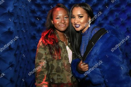 Donshea Hopkins and Tammy Rivera