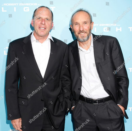"""Producers Jack Rapke and Steve Starkey arrive to the LA Premiere of """"Flight"""" at the Cinerama Dome on in Los Angeles, CA"""