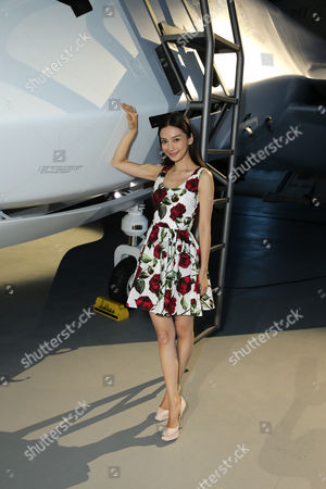 """Grace Huang seen at the """"Independence Day Resurgence"""" Global Production Event, in Albuquerque, New Mexico"""