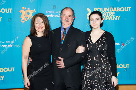 """Mark Linn-Baker and family attend the opening night after party for Broadway's """"On the Twentieth Century"""" on in New York"""
