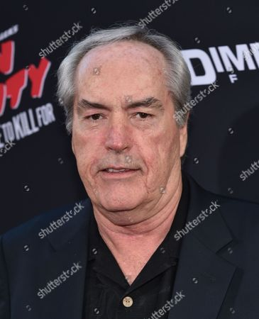 """Powers Boothe arrives at the """"Sin City: A Dame to Kill For"""" premiere presented by Dimension Films in partnership with Time Warner Cable, Dodge and DeLeon Tequila at TCL Chinese Theatre, in Los Angeles"""