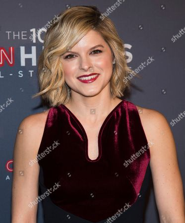 Kate Bolduan attends the 10th Annual CNN Heroes: An All-Star Tribute at the American Museum of Natural History, in New York