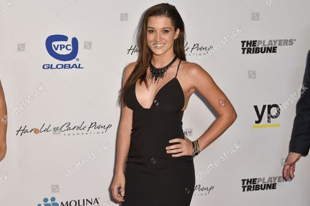 Jade Roper arrives at the 15th Annual Harold and Carole Pump Foundation Gala held at the Hyatt Regency Century Plaza,, in Los Angeles