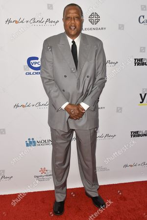 Stock Photo of Jamaal Wilkes arrives at the 15th Annual Harold and Carole Pump Foundation Gala held at the Hyatt Regency Century Plaza,, in Los Angeles
