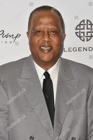 Jamaal Wilkes arrives at the 15th Annual Harold and Carole Pump Foundation Gala held at the Hyatt Regency Century Plaza,, in Los Angeles
