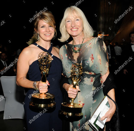 LOS ANGELES, CA - SEPTEMBER 10: (L-R) Caroline McCall and Susannah Buxton attends the 2011 Academy of Television Arts & Sciences Primetime Creative Arts Emmy Awards Governors Ball at the Los Angeles Convention Center on in Los Angeles, California