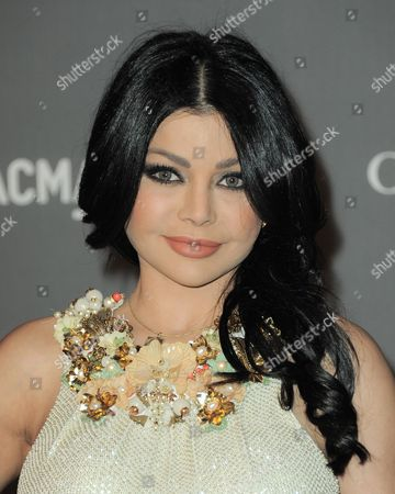 Haifa Wehbe arrives at the 2012 ART + FILM GALA hosted by LACMA, in Los Angeles