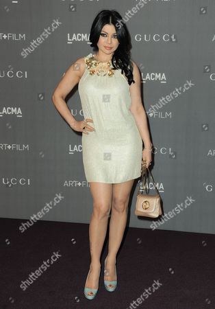 Editorial picture of 2012 ART + FILM GALA hosted by LACMA, Los Angeles, USA