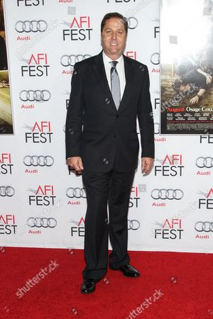 """Stock Image of Producer Steve Traxler arrives at the 2013 AFI Fest screening of """"August: Osage County"""" at the TCL Chinese Theatre on in Los Angeles"""