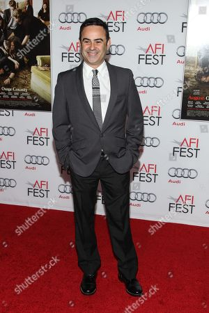 """Nelson Ascencio arrives at the 2013 AFI Fest screening of """"August: Osage County"""" at the TCL Chinese Theatre on in Los Angeles"""
