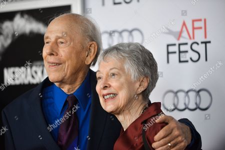 "Rance Howard, left, and Judy Howard arrive at the 2013 AFI Fest premiere of ""Nebraska"" at the TCL Chinese Theatre on in Los Angeles"
