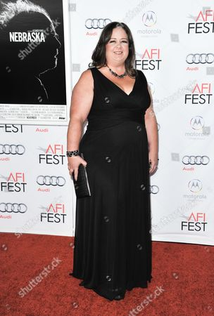 """Stock Photo of Missy Doty arrives at the 2013 AFI Fest premiere of """"Nebraska"""" at the TCL Chinese Theatre on in Los Angeles"""
