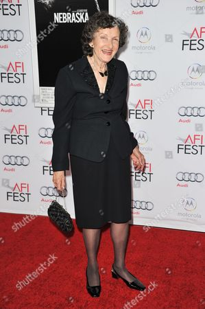 "Editorial picture of 2013 AFI Fest - ""Nebraska"" - Arrivals, Los Angeles, USA"