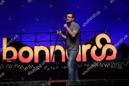 James Adomian performs at the 2013 Bonnaroo Music and Arts Festival on in Manchester Tennessee