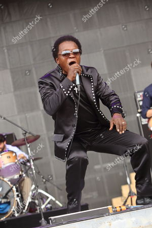 Lee Fields & the Expressions performs at the 2013 Bonnaroo Music and Arts Festival on in Manchester Tennessee