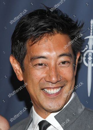 TV personality Grant Imahara arrives at the 2013 Geekie Awards at the Avalon on in Los Angeles