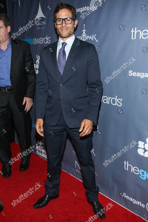 Actor Christopher Wolfe arrives at the 2013 Geekie Awards at the Avalon on in Los Angeles