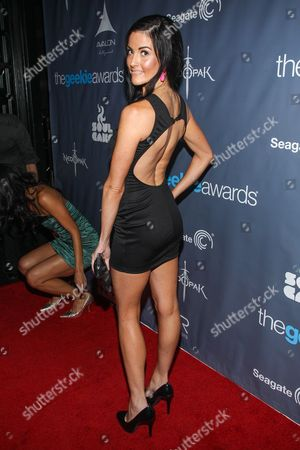 Actress Rileah Vanderbilt arrives at the 2013 Geekie Awards at the Avalon on in Los Angeles