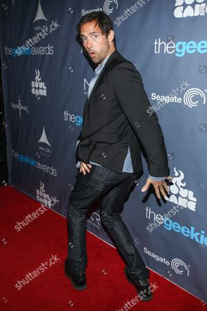 Stock Picture of Actor Andrew Bowen arrives at the 2013 Geekie Awards at the Avalon on in Los Angeles