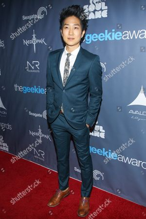 Actor Tim Jo arrives at the 2013 Geekie Awards at the Avalon on in Los Angeles