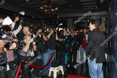 Actor Richard Hatch arrives at the 2013 Geekie Awards at the Avalon, in Los Angeles