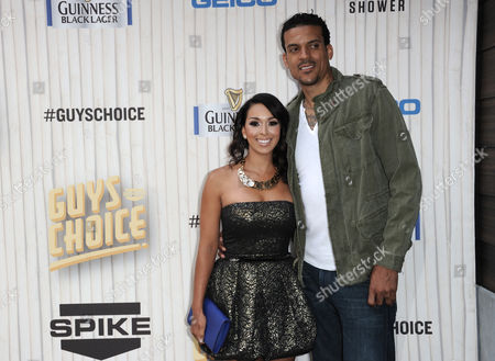 Gloria Govan, left, and Matt Barnes arrive at Spike TV's Guys Choice Awards at Sony Pictures Studios, in Culver City, Calif