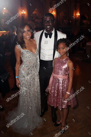 From left, actors Rebecca Jefferson, Lance Gross and Quvenzhane Wallis pose during the 2013 NAACP Image Awards Hyundai After Party held at the Millennium Biltmore Hotel on in Los Angeles, Calif