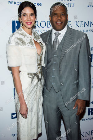Robert Smith and Hope Dworaczyk attend the Ripple of Hope Awards on in New York