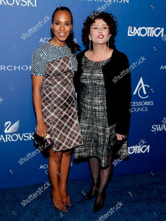 Kerry Washington, left, and Lyn Paolo, right, attend the 2014 ACE Awards at Cipriani 42nd Street, in New York