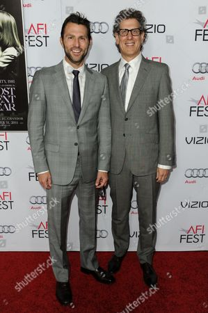 """Jonathan King, and Jim Berk arrive at 2014 AFI Fest - """"A Most Violent Year"""", in Los Angeles"""