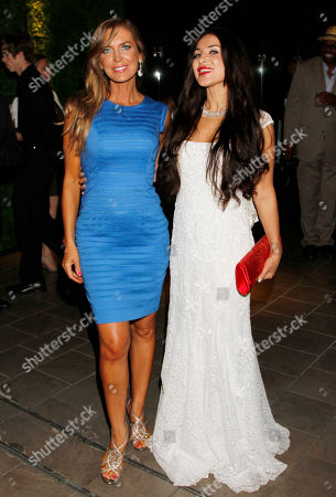Sandra Vidal, left, and Saye Yabandeh attend the 2014 Daytime Emmy Nominee Reception presented by the Television Academy at The London West Hollywood on
